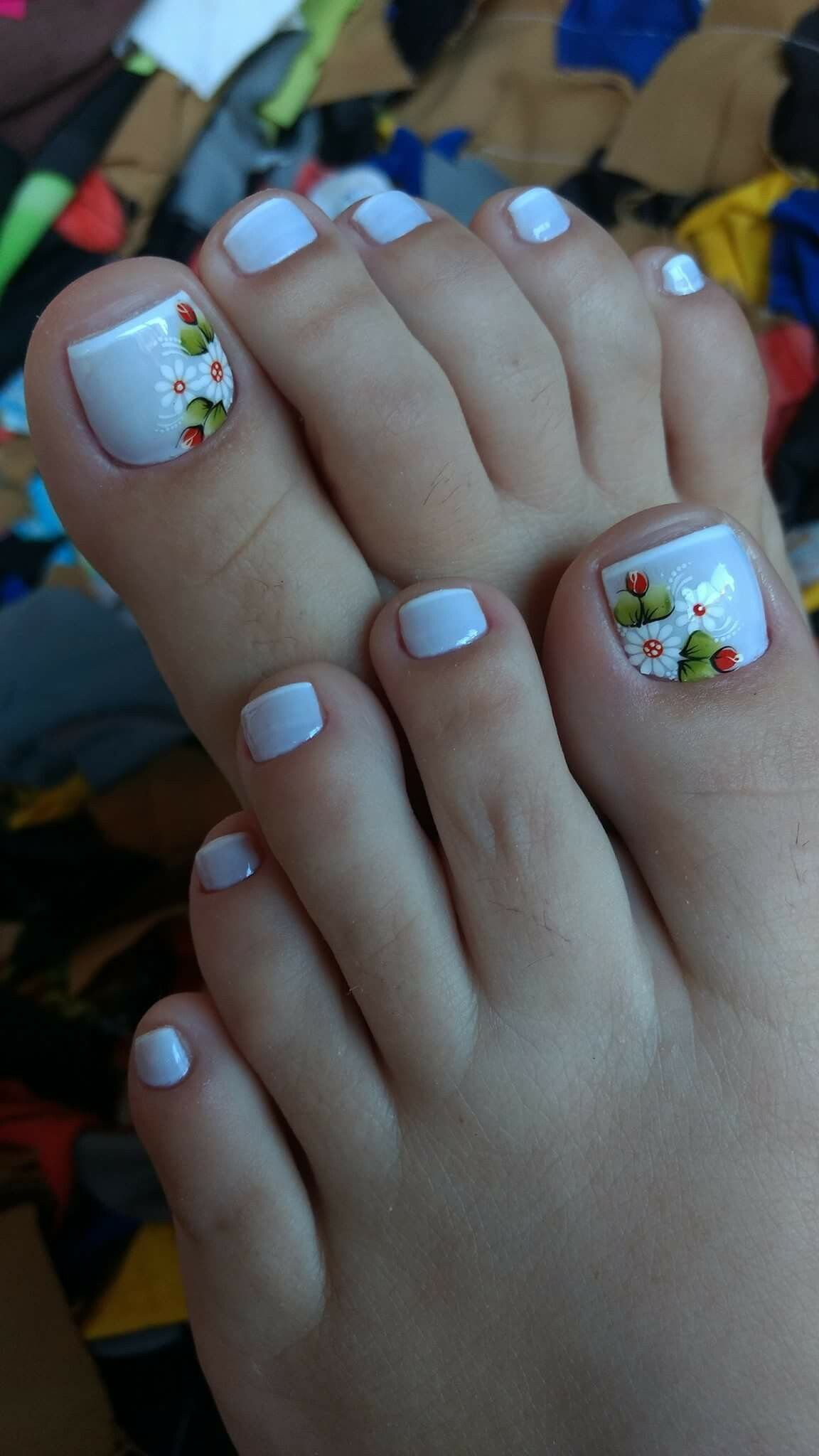 Pin by Andrea Quintana on Pedicura | Pinterest | Pedicures, Manicure ...