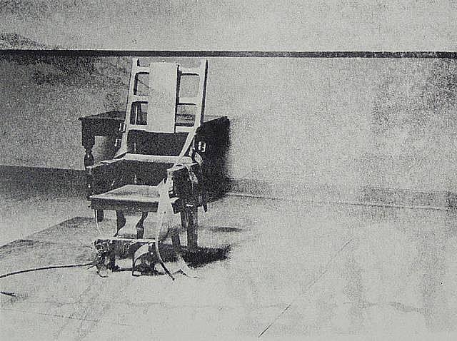 Andy Warhol Big Electric Chair 1967 & Andy Warhol Big Electric Chair 1967   andy warhol   Pinterest ...