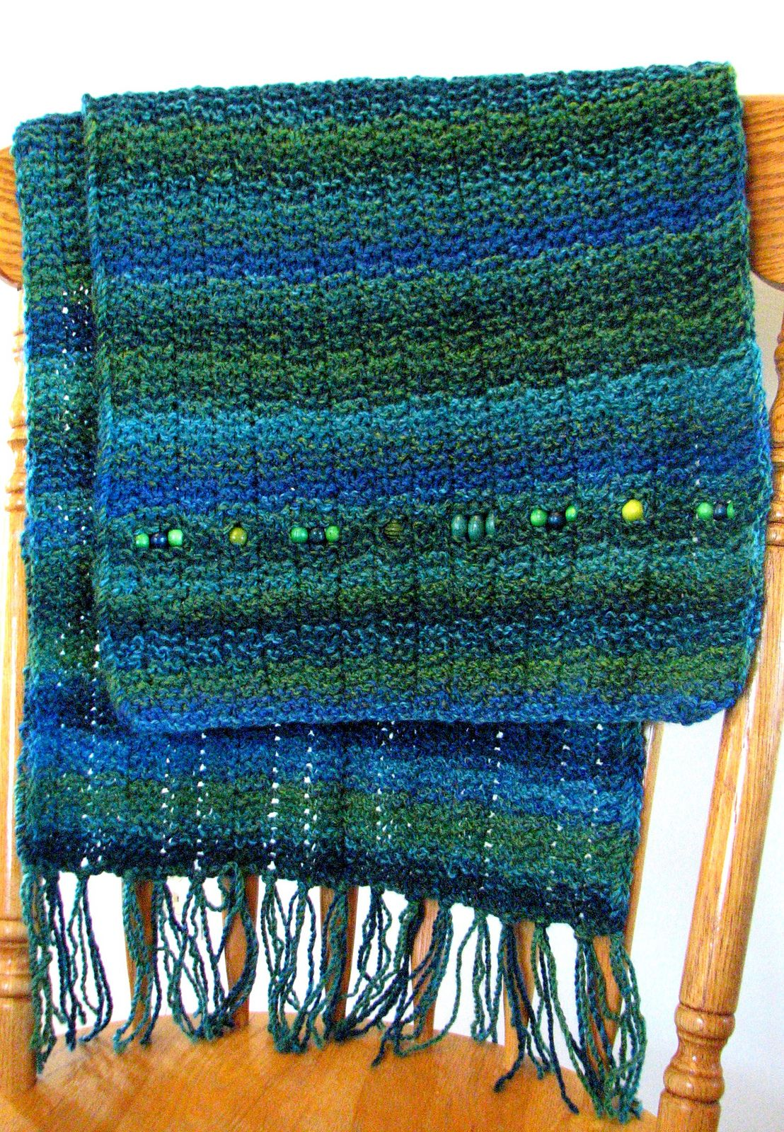 Free Knitting Pattern for Prayer Shawl - This easy shawl is offered ...