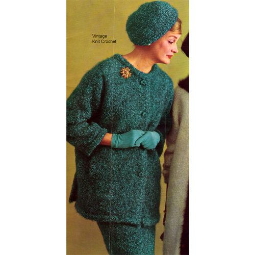 Knitted Dinner Suit Pattern