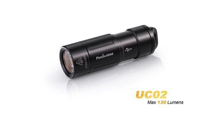 Fenix Uc02 Mini Lampe Torche 130 Lumens Rechargeable Avec