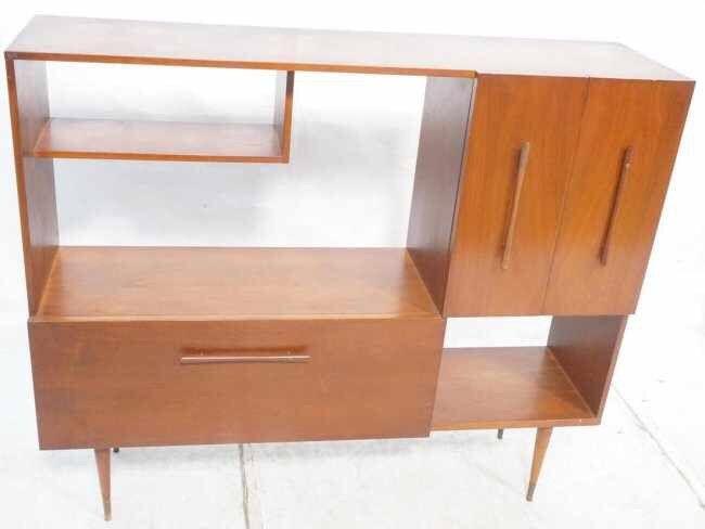 American Walnut Modern Bar Cabinet by Focusedonthefinest on Etsy https://www.etsy.com/listing/234225241/american-walnut-modern-bar-cabinet