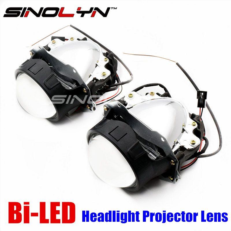 Sinolyn Car Bi LED Projector Lens Headlight Retrofit DIY