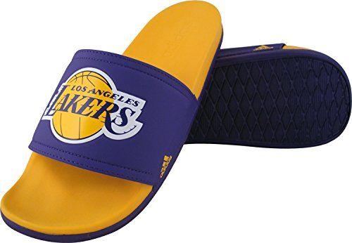 337e11edcdd adidas Performance Mens Adilette La Lakers Sandals