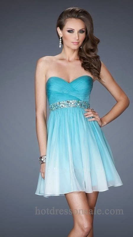 e4a86345dac Blue Short Homecoming Dresses