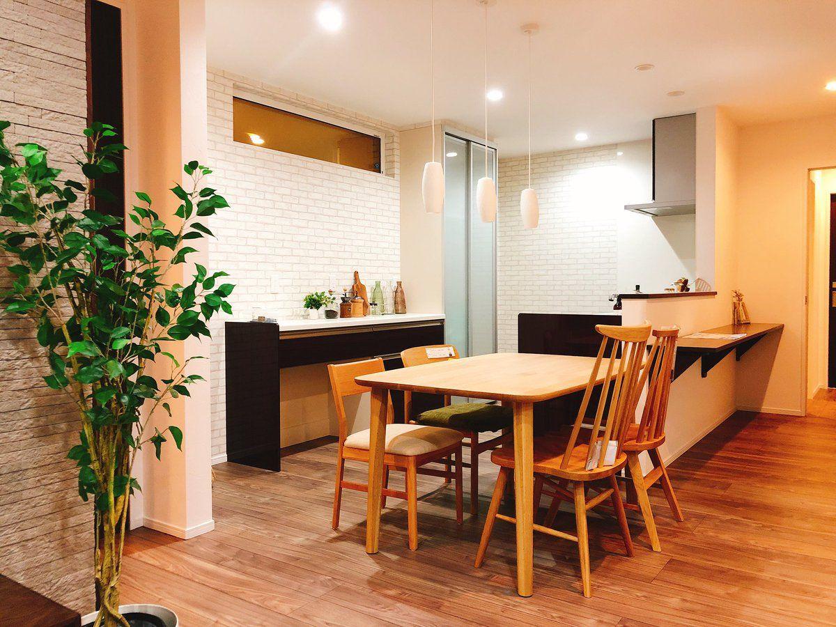 キッチン ダイニング おしゃれ ナチュラル 木の家 Kitchen Dining Room