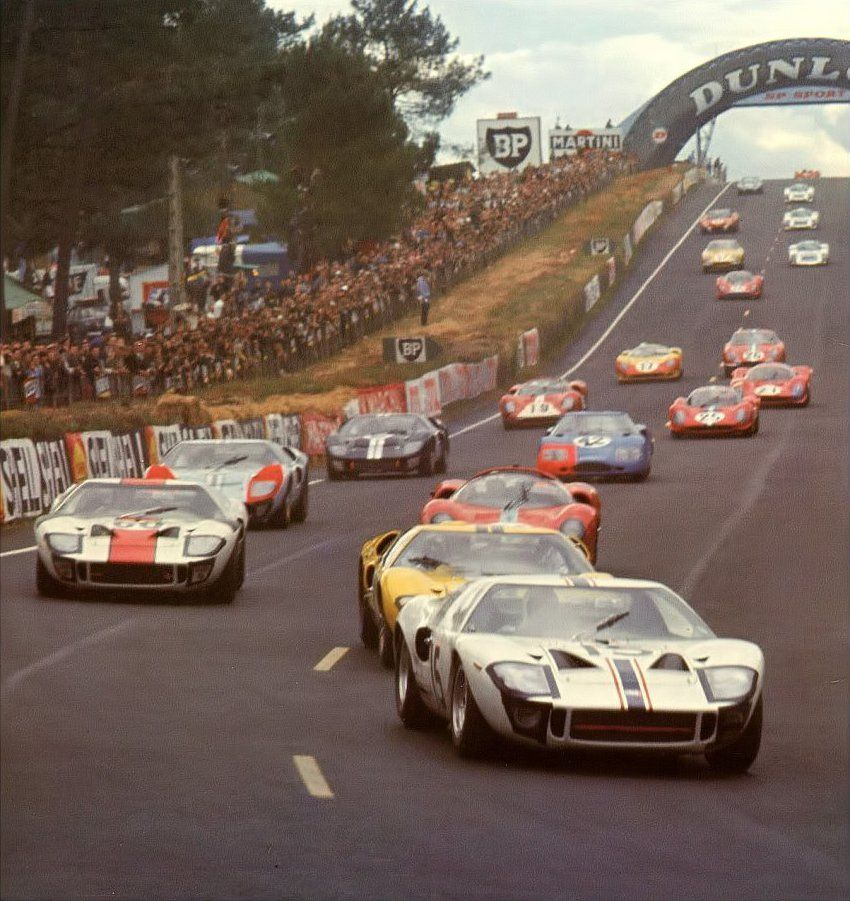 24hlemans 1966 Ford Gt Ford Gt Le Mans Classic Sports Cars
