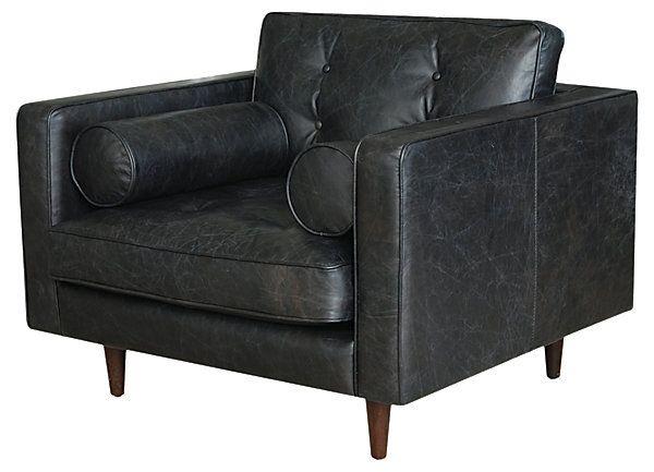 One Kings Lane - Loft Living - Johnathon Chair, Black For the Home