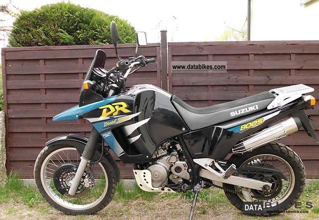 old motorcycles dirt brazil suzuki dr800 1998 suzuki dr. Black Bedroom Furniture Sets. Home Design Ideas