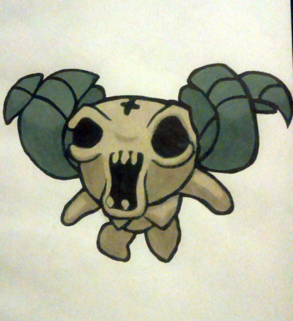 The Binding Of Isaac: Rebirth, The Lamb By Coco4892