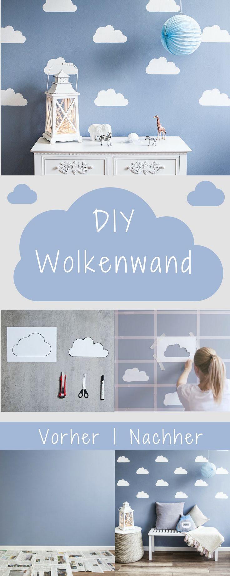 Himmlisches DIY: Wolkenwand | ☆Kinderzimmer Inspirationen ...