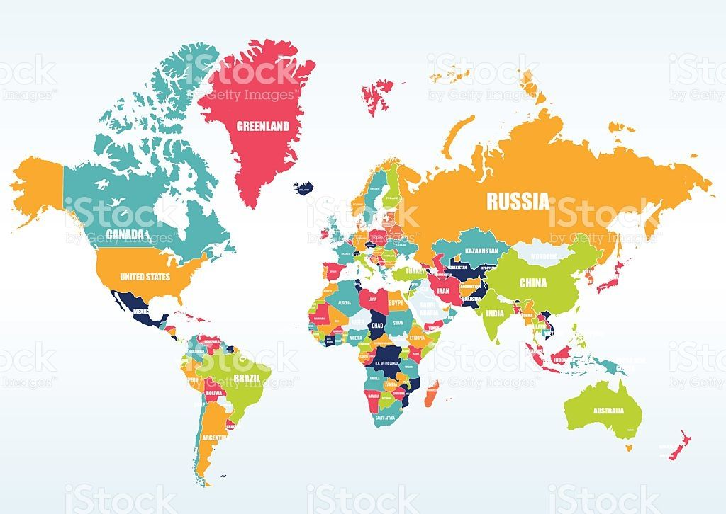 World political map vector art free vector art and royalty world political map gumiabroncs Image collections