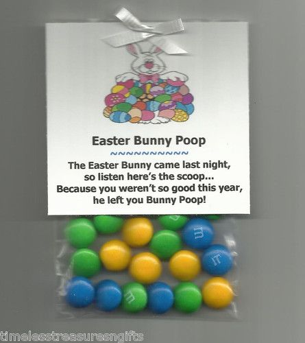 New homemade easter bunny poop candy gag novelty gift favor m ms new homemade easter bunny poop candy gag novelty gift favor m ms basket filler ebay negle