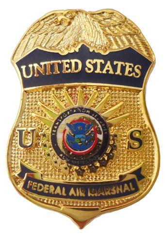 Us Federal Air Marshal Lapel Pin Air Marshal Police Badge Fire Badge