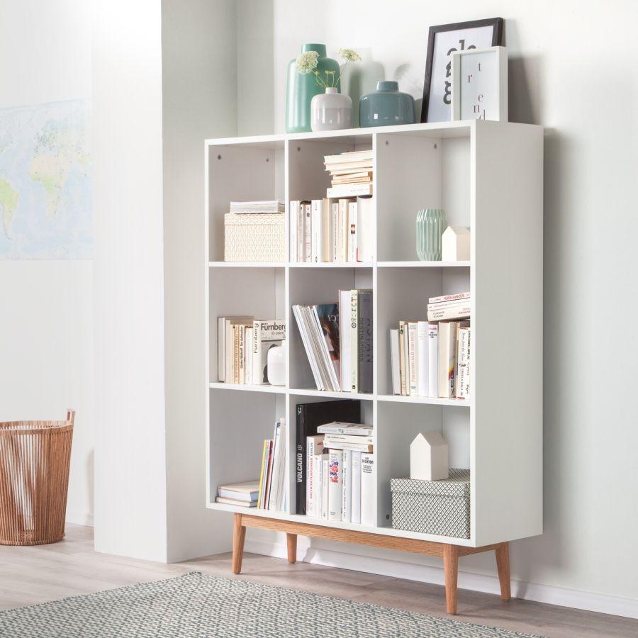 regal lindholm iii wei eiche massiv wohnstil skandi pinterest eiche regal und. Black Bedroom Furniture Sets. Home Design Ideas