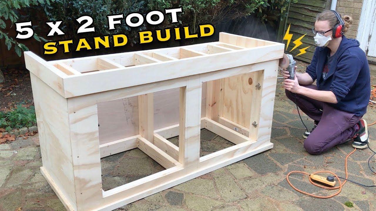 Building An Aquarium Stand 5 X2 X2 Part Two Aquarium