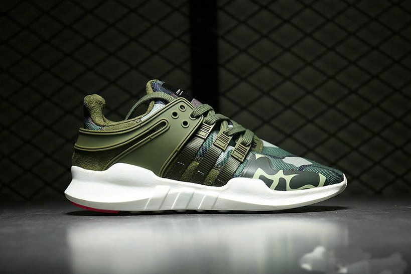 info for 0a4c2 29906 Adidas EQT Support Adv Primeknit 93 Army Green Camo Size 40 ...