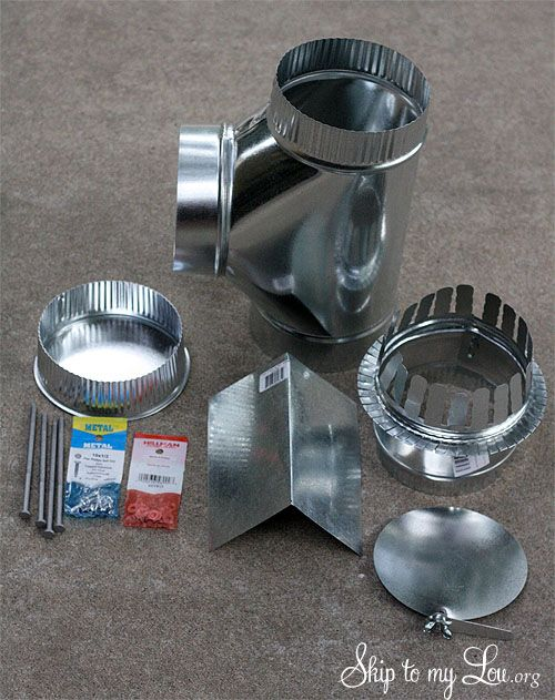 DIY How To Build A Cook Stove Supplies