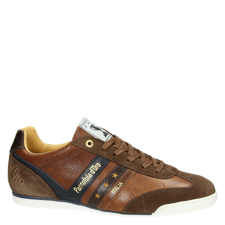 53457fd7 Bekijk nu deze Pantofola d'Oro Vasto Uomo Low heren lage sneakers cognac op  Nelson