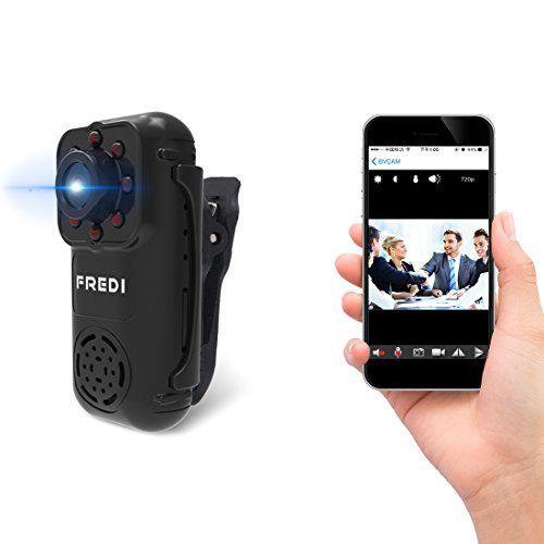 Fredi 720p Mini Portable Hidden Spy Camera Indoor