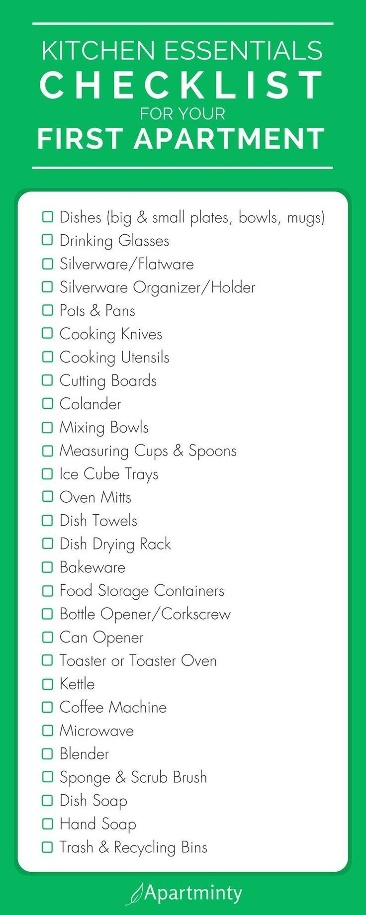 The Essential Items To Put On Your First Apartment Kitchen Checklist | What You #design #designer #designs #designlife #gardeningtips #kitchendecor #decorationideas #livingroomdecor #designlogo #designgrafico #designspiration #braidedhairstyles #crochethairstyles #garden_styles #gardenwedding #firstapartment