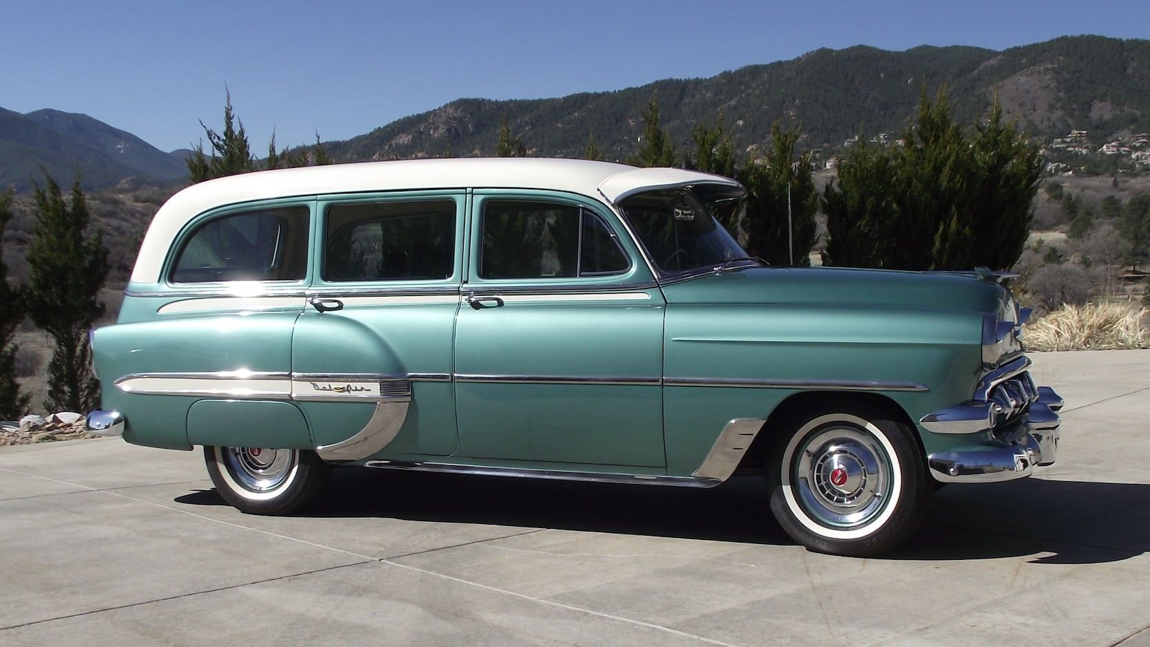 1954 Chevrolet 210 Wagon Presented As Lot S41 At Denver Co Chevrolet Wagon Mecum