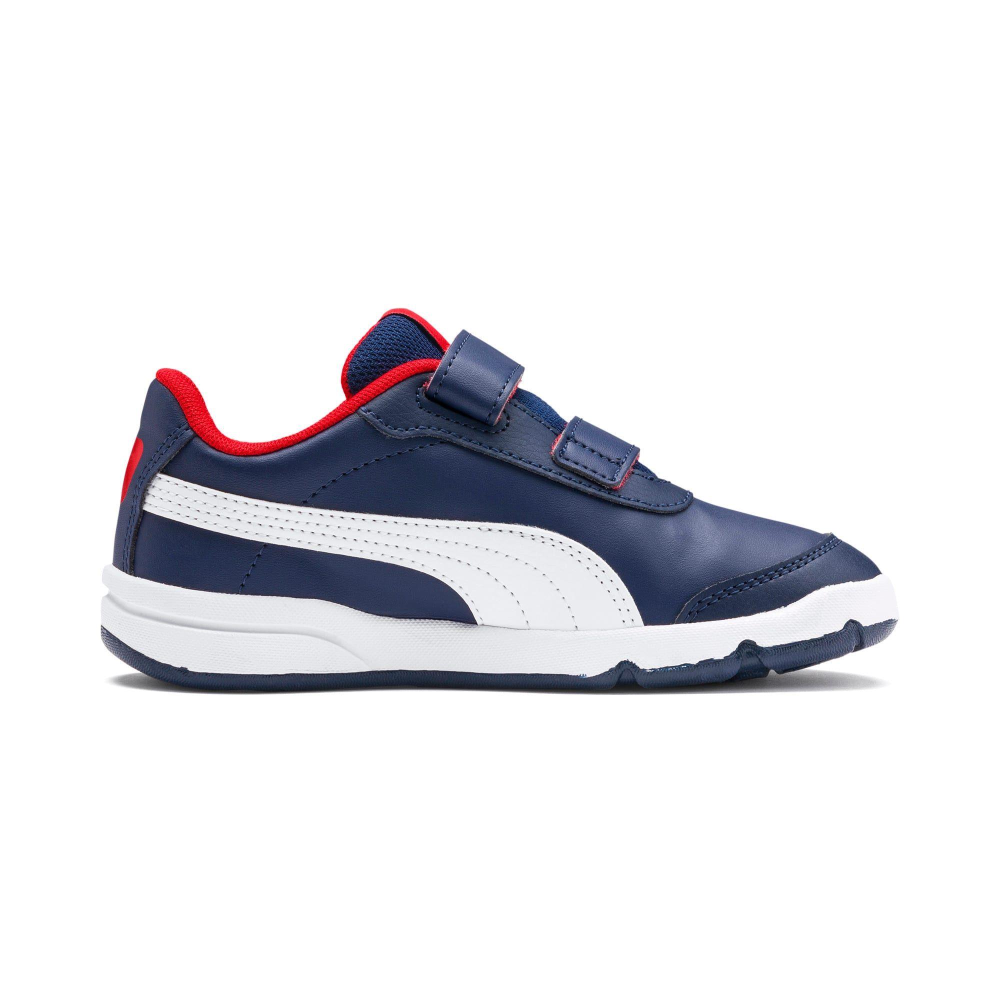 chaussure puma rouge et bleu