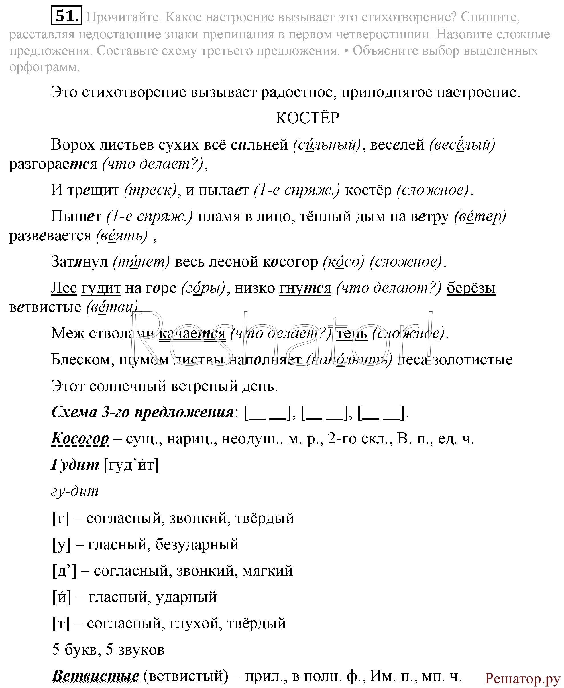 Скчать бесплатно готовые домашние задания по русскому