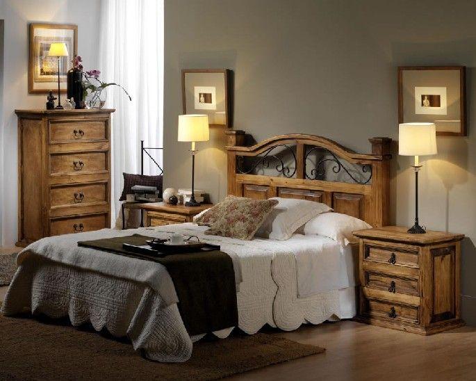Muebles r sticos con clase muebles r sticos pinterest - Muebles rustico mexicano ...