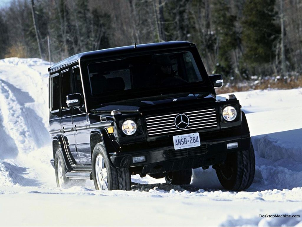 Who needs to worry about their driving skills when they re driving a mercedes g