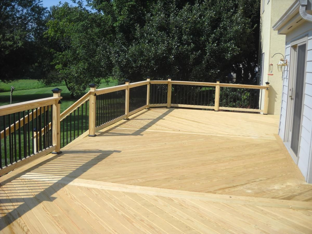 We Use The Best Pressure Treated Wood That We Can Find For Our