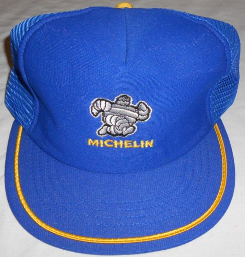VTG Michelin Tires Snapback Mesh Trucker Hat Cap New Without Tags ... 4953c03614a5