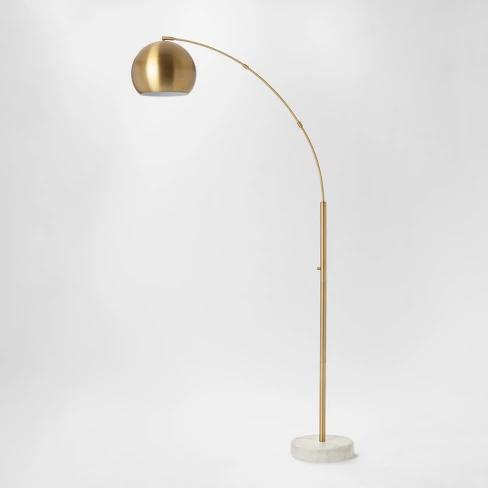 94 39 Span Single Head Metal Globe Floor Lamp Project 62 Target In 2020 Brass Floor Lamp