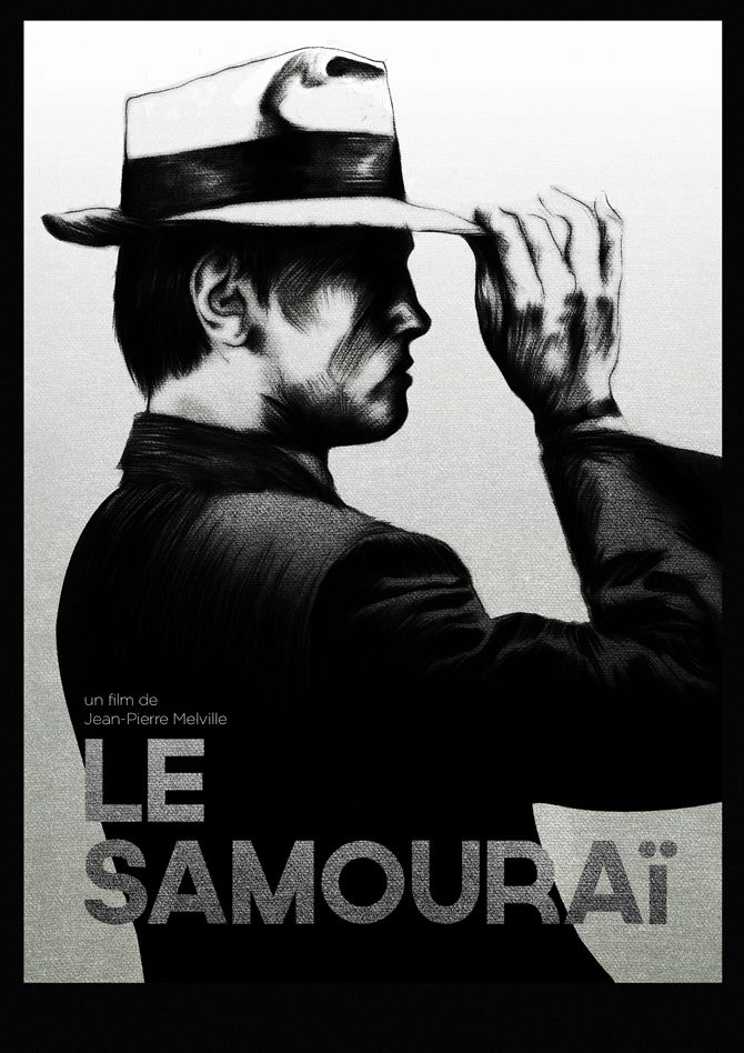 Le Samouraï - Jean-Pierre Melville   Movie Posters & Covers ...