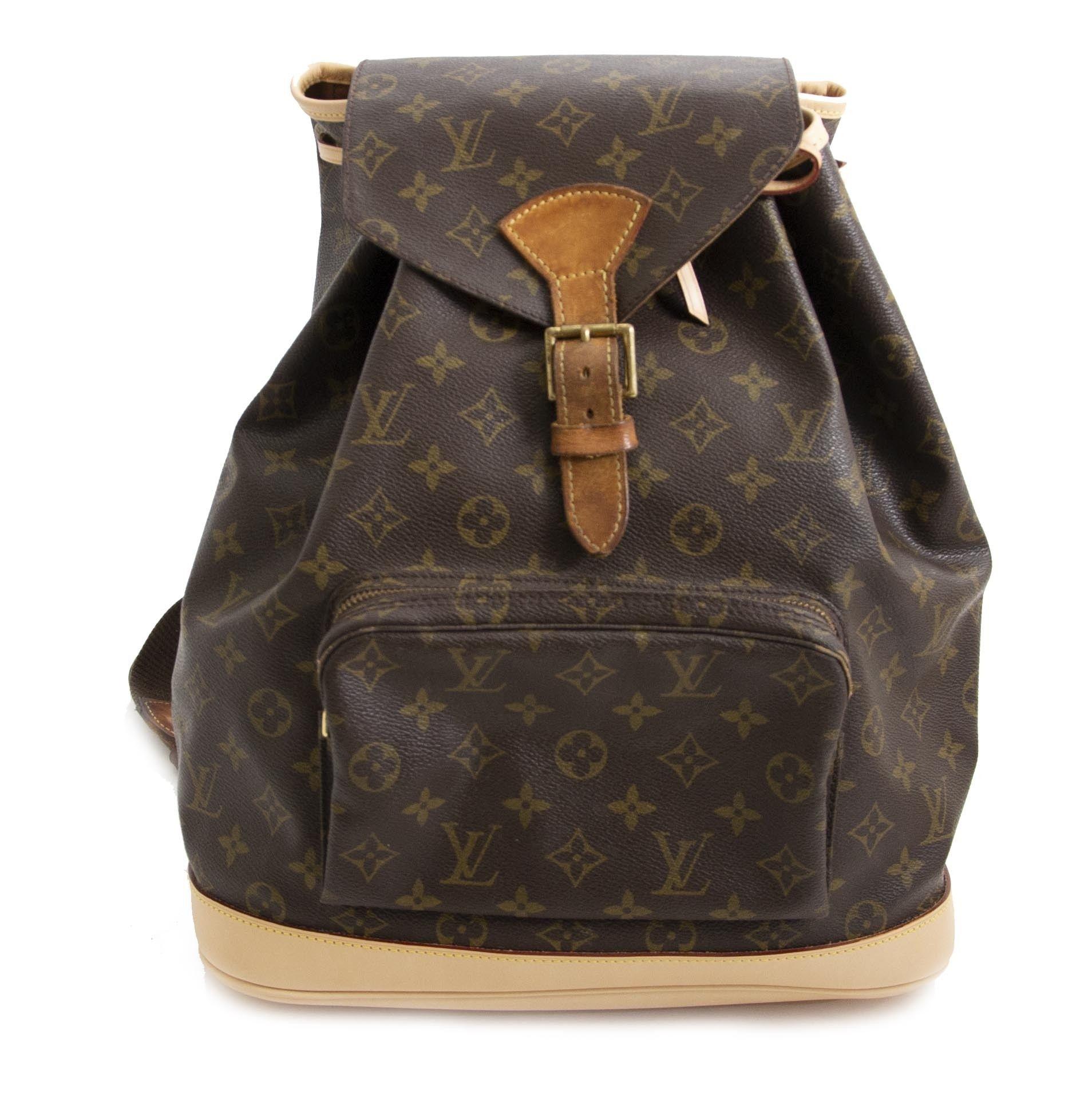 d2dcca778557 Louis Vuitton Montsouris GM Backpack   Shop Labellov in 2019