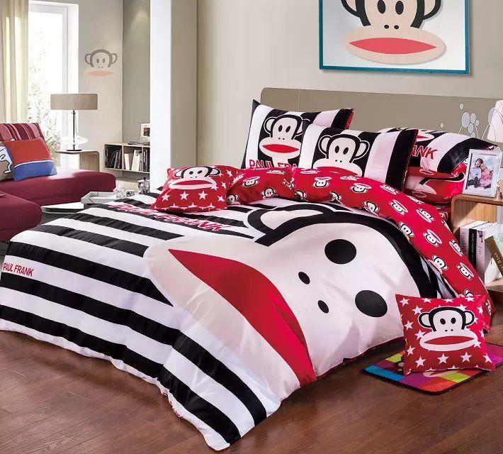 Paul Frank Bedding Set Cute Comforters
