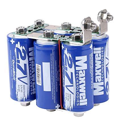Amazon Com Maxwell Durablue 16v 500f Super Capacitor Battery Ultracapacitor 1900a Solar Power System Home Audio Capacitor Solar Power System Power Amplifiers