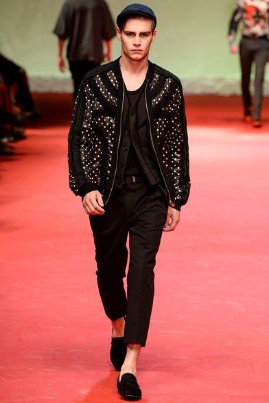 3f1d20bb733c2 Dolce   Gabbana Spring 2015   Men s Milan Fashion Week Homens De Alta Moda,  Semana