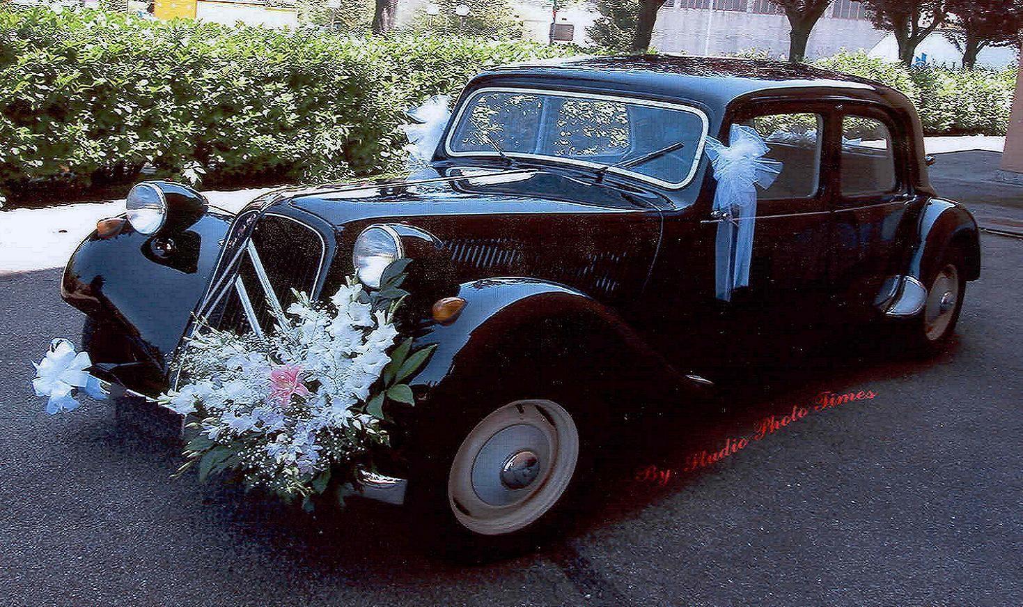 citroen traction avant wedding car. Black Bedroom Furniture Sets. Home Design Ideas
