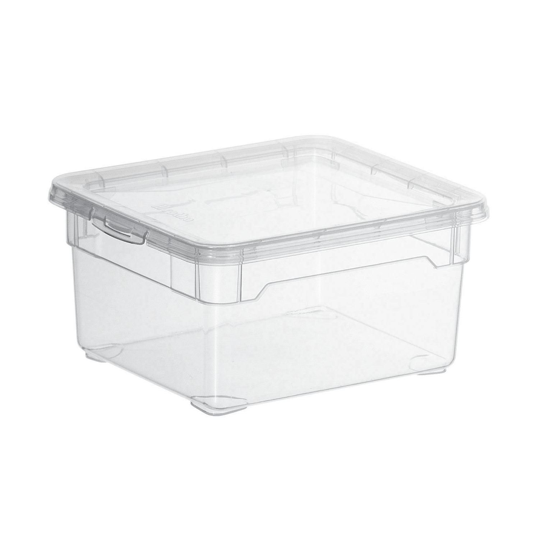 Boite De Rangement Basic Box 2l 7082005 Carrefour Boite De Rangement Et Rangement