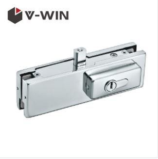 Glass Door Lock Patch Fittings Frameless Glass Door Lock Patch Fitting Used With Lock Box Glassdoor Doormountin Glass Door Lock Glass Door Door Fittings
