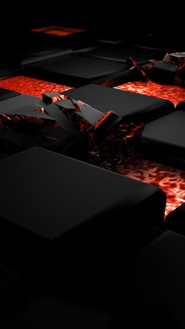 Download Wallpaper 640x1136 Cube Fire Dark Light Alloy Iphone 5s 5c 5 Hd Background Oneplus Wallpapers Hd Cool Wallpapers Mobile Wallpaper