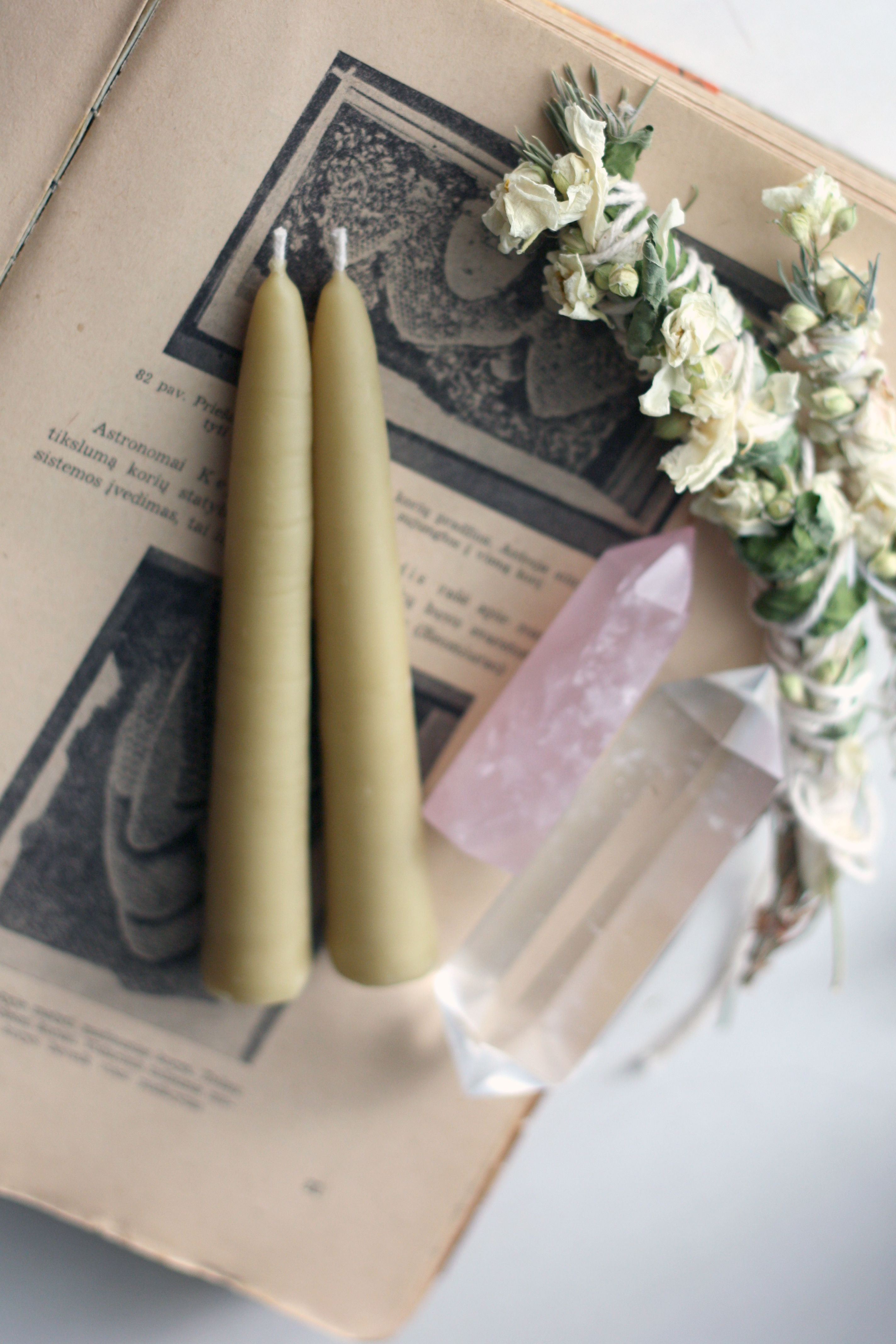 Beeswax candles natural bee wax tapers taper candles hand dipped