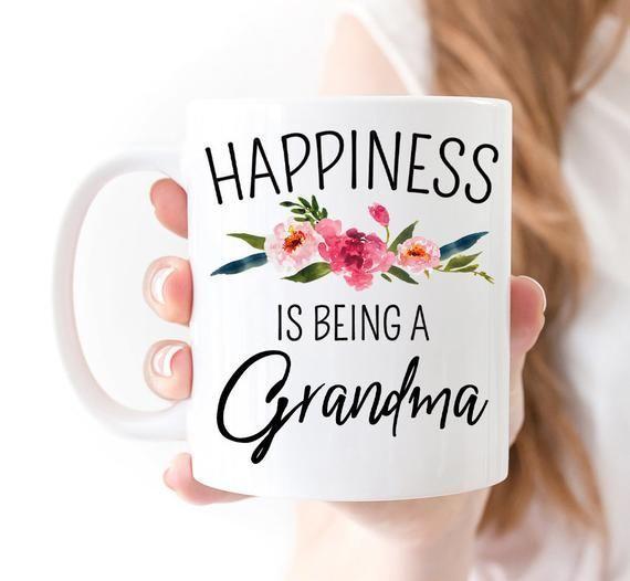Happiness Is Being A Grandma Gift Mug