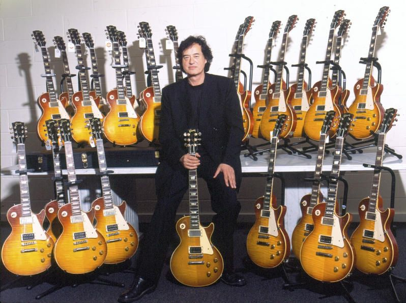 Jimmy Page Les Paul Collection Guitar Collection Led Zeppelin Gibson Les Paul