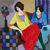 Sisters, Ltd Ed Silk-Screen