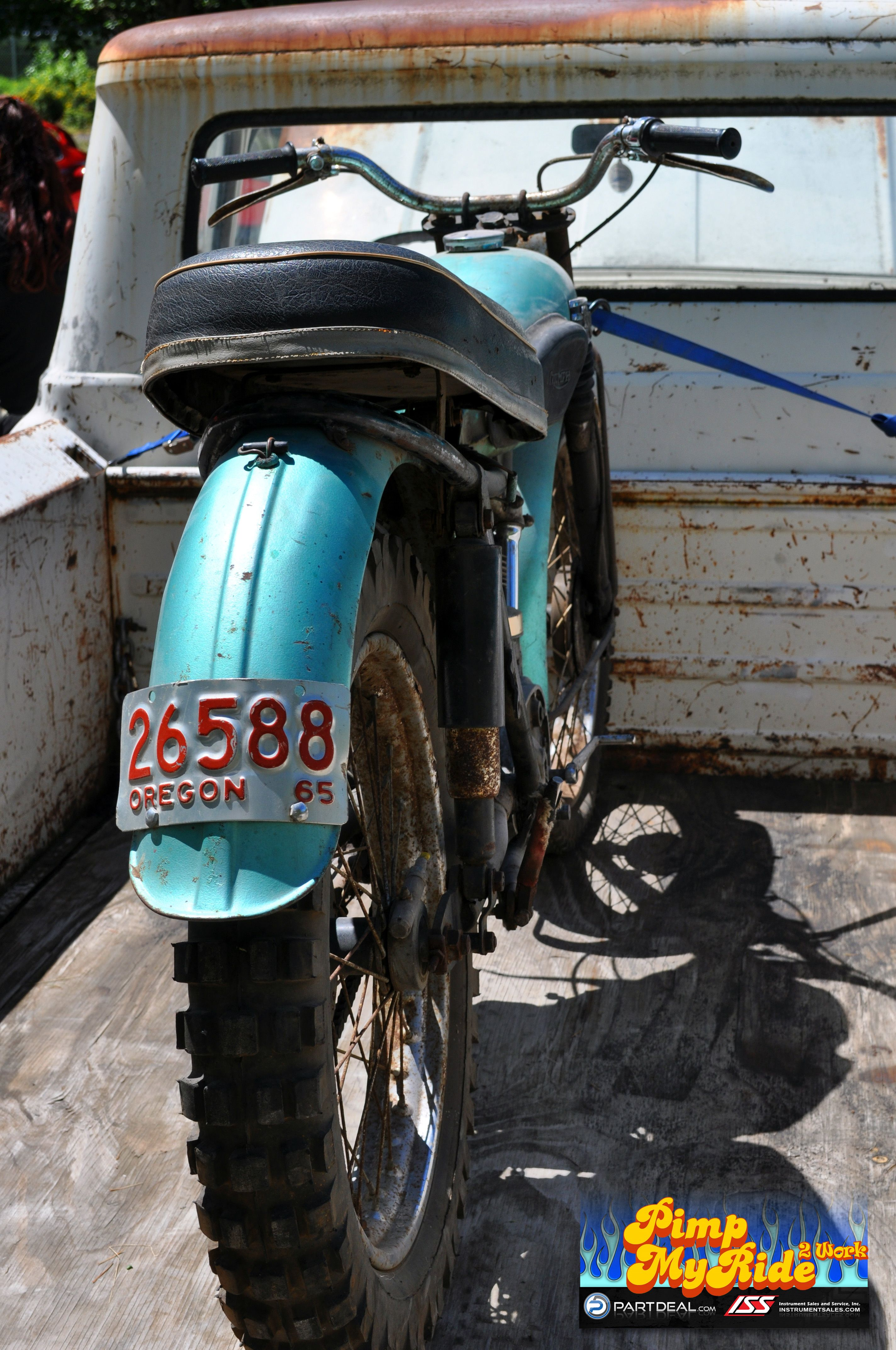 1958 Triumph Motorcycle bloggallery