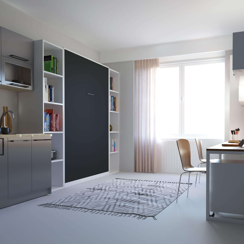 Schrankbett Smartbett Basic Serie Vertikal Murphybed Interior