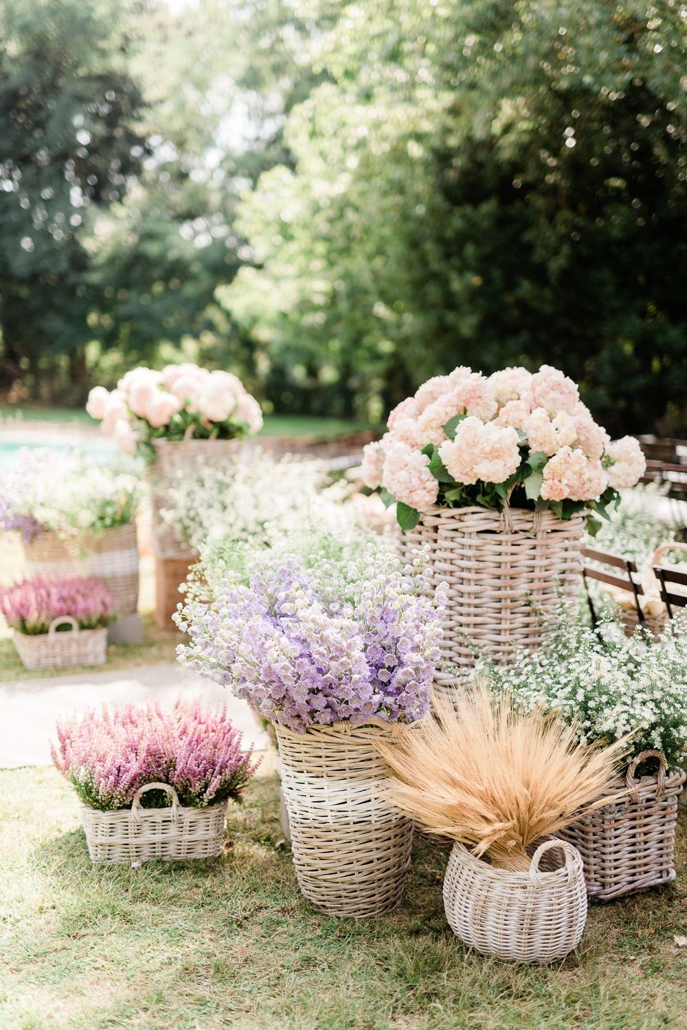 If you're dreaming of a magical garden spring wedding, filled with pastel and bright flowers, with a whimsical feel - these 29 ideas from Martha Stewart Wedding to create the most magical and romantic secret garden party are just for you! With pinks, reds, yellows, whites, greens and more - you can make your big day stunning! #GardenParty #Wedding #Ideas #Inspiration #Weddings #Flowers #Floral #MarthaStewart | Martha Stewart Weddings - 29 Ways to Turn Your Wedding Into a Secret Garden
