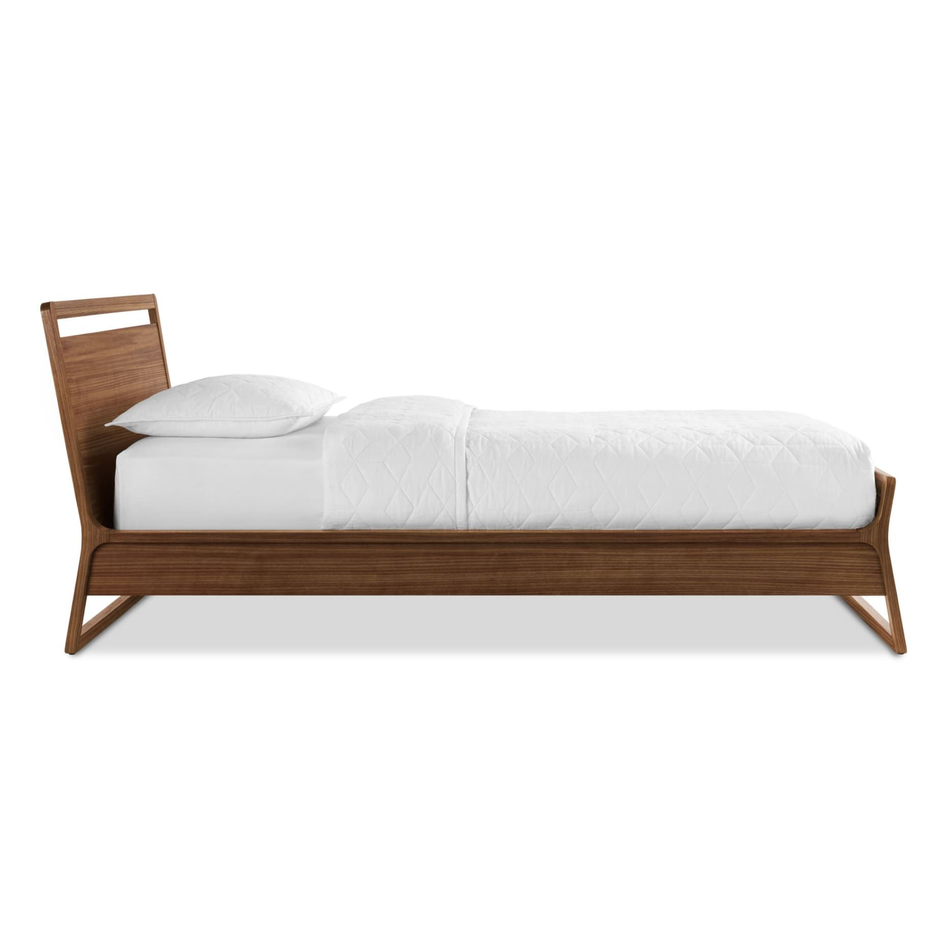 Woodrow Twin Bed Bed Linens Luxury Modern Wood Bed Bed Linen